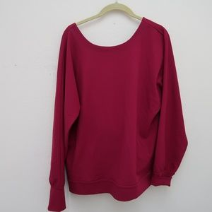 Ann Taylor Sweaters - Ann Taylor Women's Pink Overlap V-Neck Sweater Top